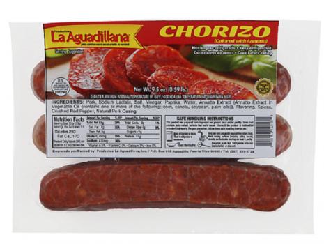 Chorizo Aguadillana