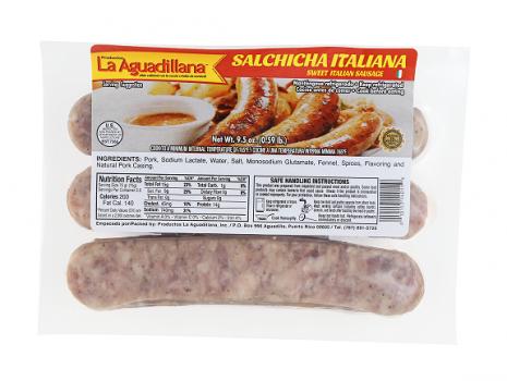 Salchicha Italiana Aguadillana1