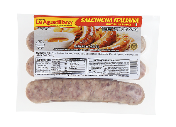 Salchicha Italiana Aguadillana1