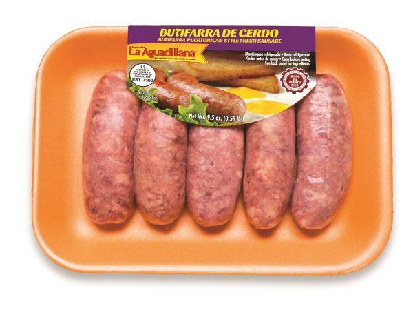 Butifarra de Cerdo La Aguadillana